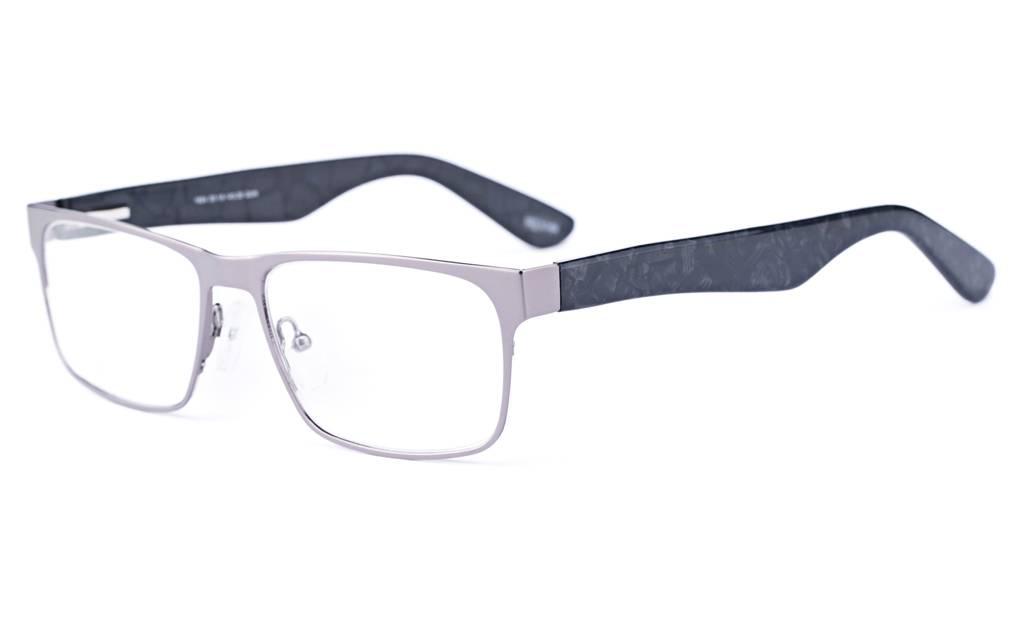 Gun 1624 Full Rim Square Metal-Stainless Steel/ZYL Glasses