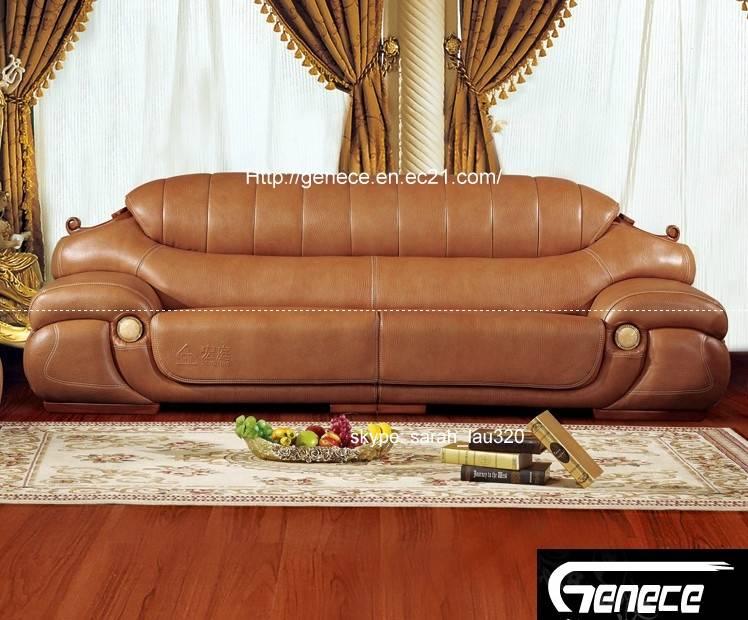 Superior Quality Leather Sofa Set, 4+2+1+1 Sofa, Excellent Sofa Design, Villa Furniture