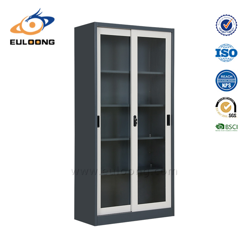 Sliding Glass Door Filing Cabinet