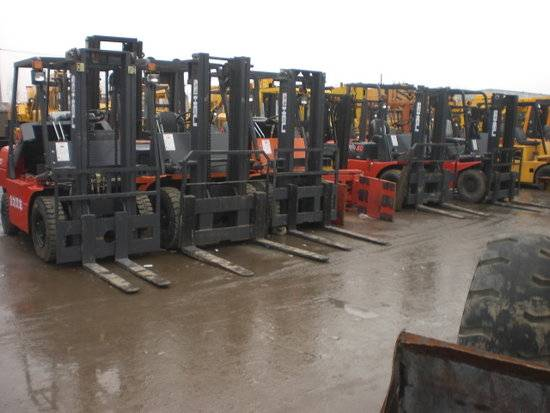 Used Forklifts 1.5-15ton with Many Brands, Original