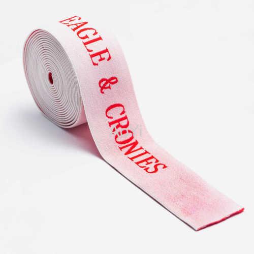 4cm Polyester Nylon Yarn Spandex elastic tape