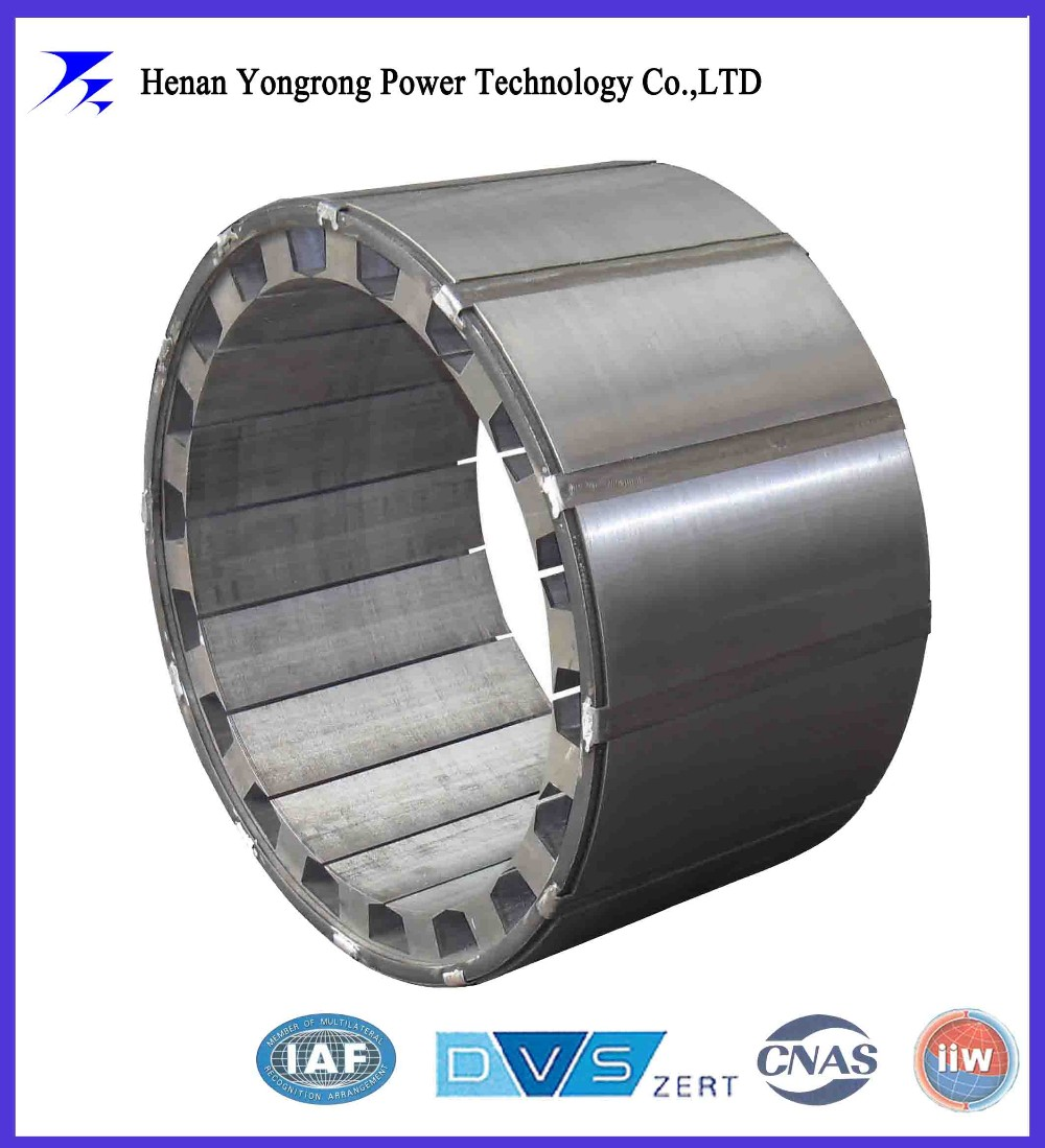 silicon steel stator laminated iron core for permanent magnet motor and generator