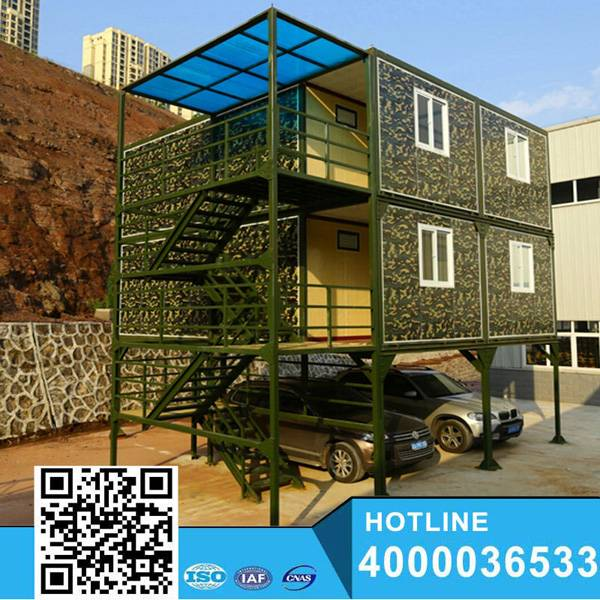 modern commercial design container house for sale