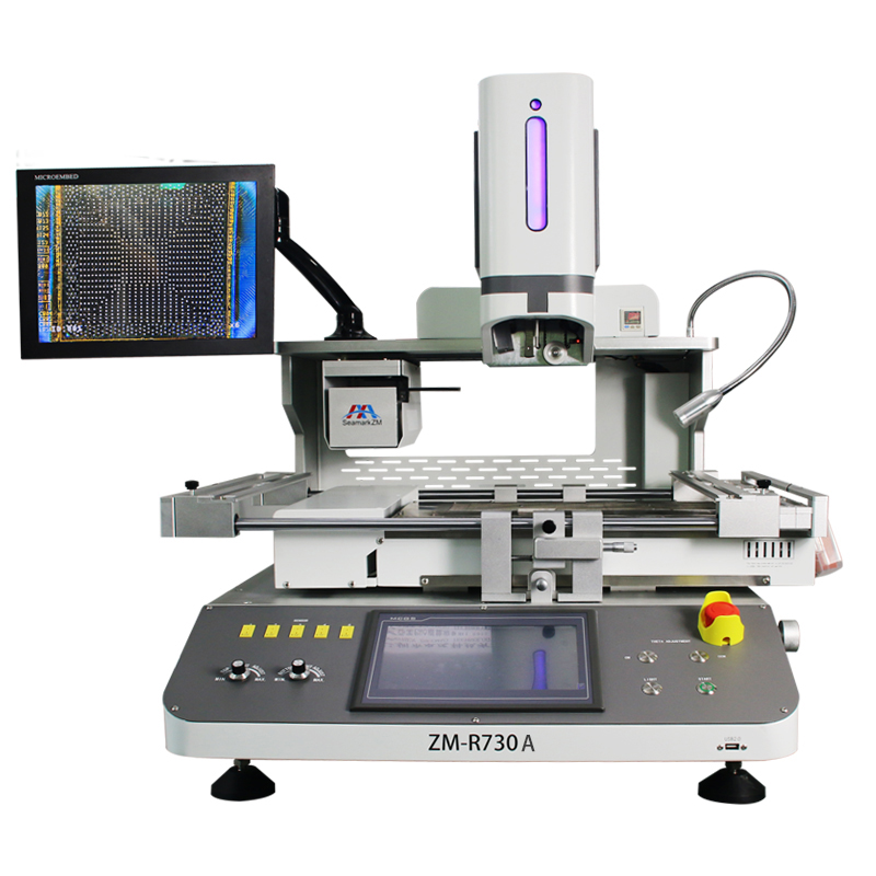 Big Motherboard bga rework station ZM-R730A Rework System for Large Size PCB