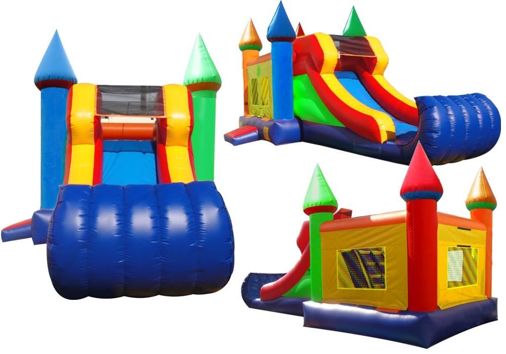 inflatable bouncy slide, bouncy house
