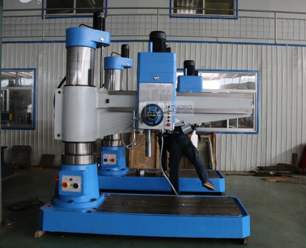 China Radial Arm Drilling Machine Z3050 Hydraulic Radial Drilling Machine