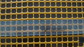 Plastic square mesh garden mesh