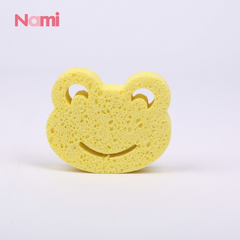 Best Selling Products Dry Brush Reusable Bath Sponge Bubble Cellulose Bath Scrubber