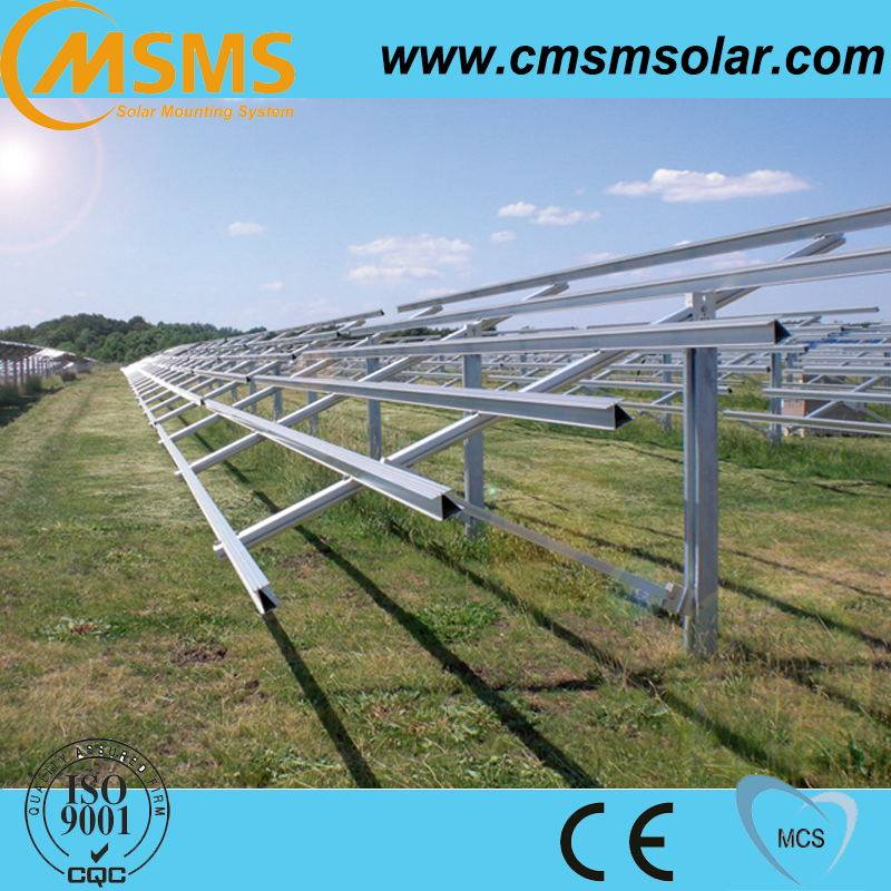 High quality aluminum solar panel mounting structure