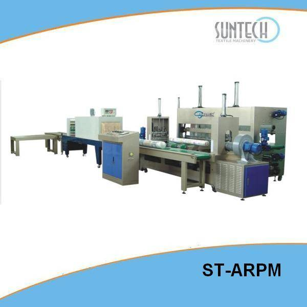 Automatic Fabric Roll Shrink Packing Machine(ST-ARPM)