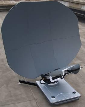 1.2m Flyaway Carbon Fiber Auto C band antenna