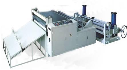 High speed computerized transverse cutting machine