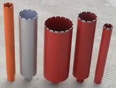 Core drill bits for concrete