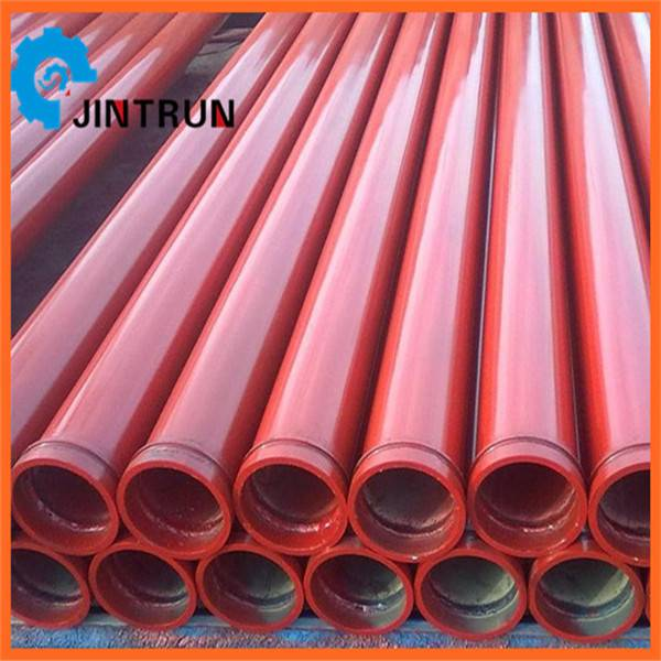 Hot sell concrete pump pipes/tubes/pipelines/seamless steel pipe