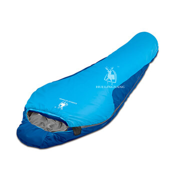 Super soft compact mummy sleeping bag H56