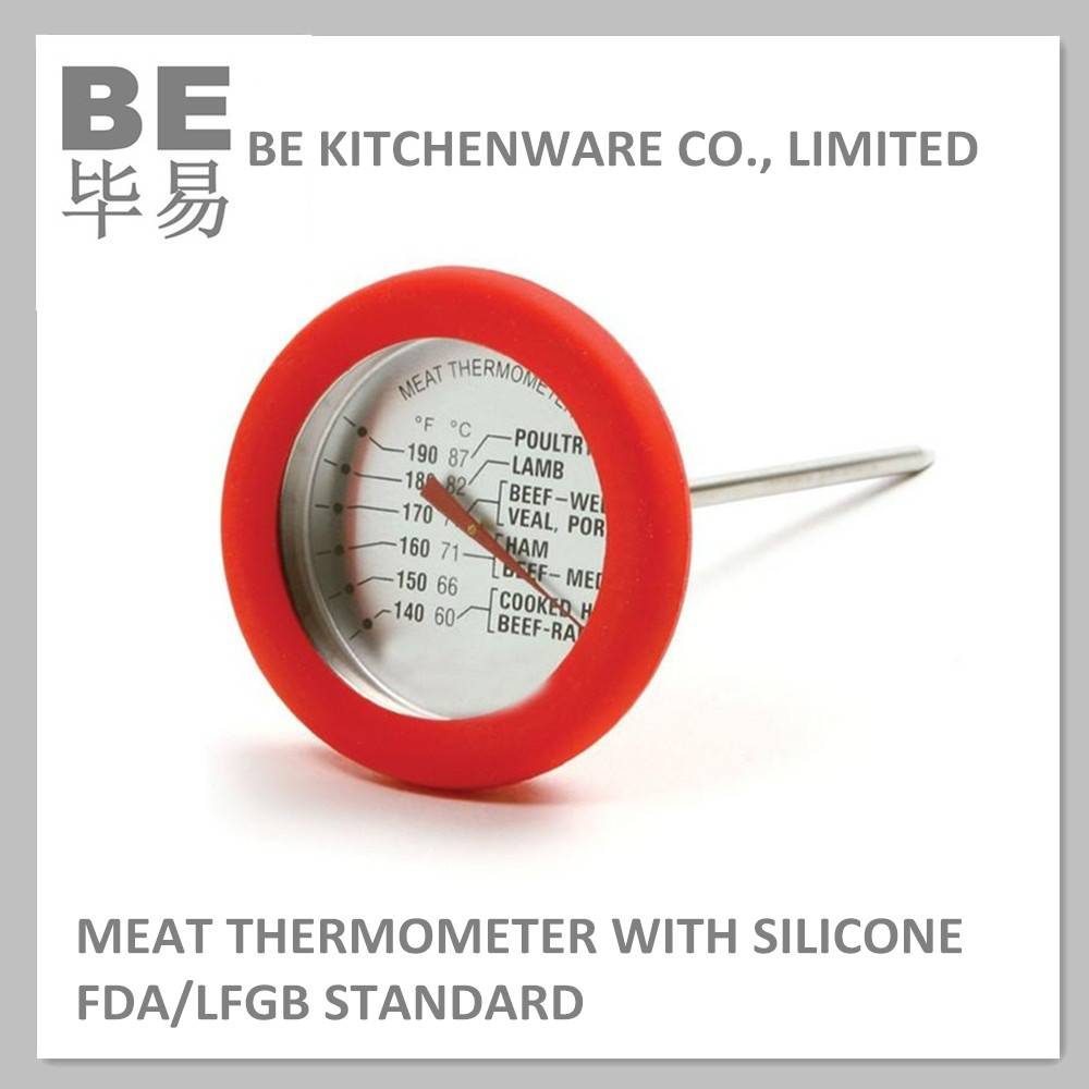 Wholesale meat dial thermometer with stem