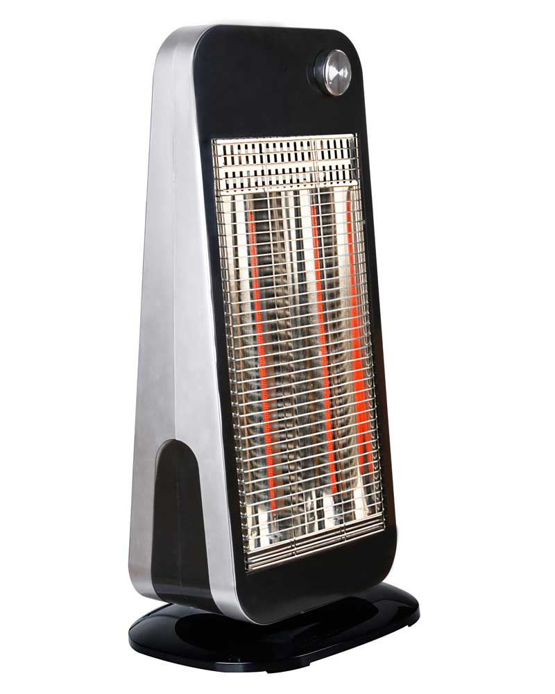900W Electric carbon fiber heaters with tip-over safty switch