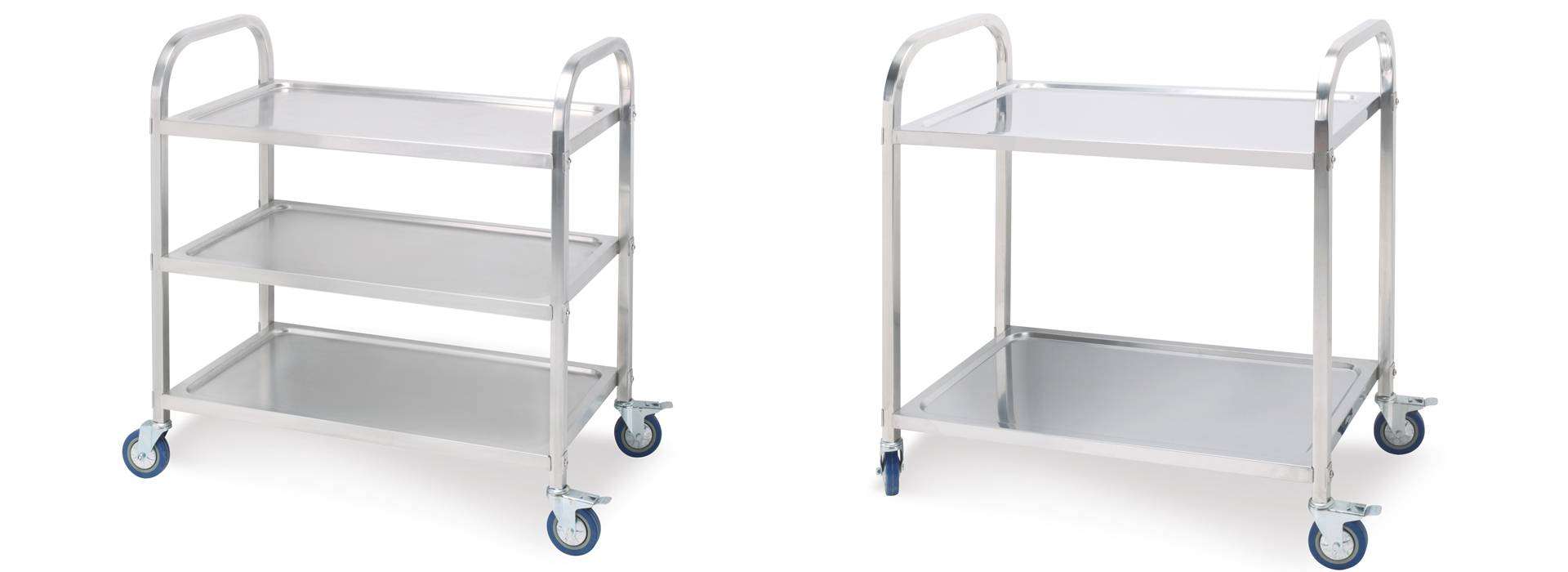 201ss stainless steel three layers dining cart