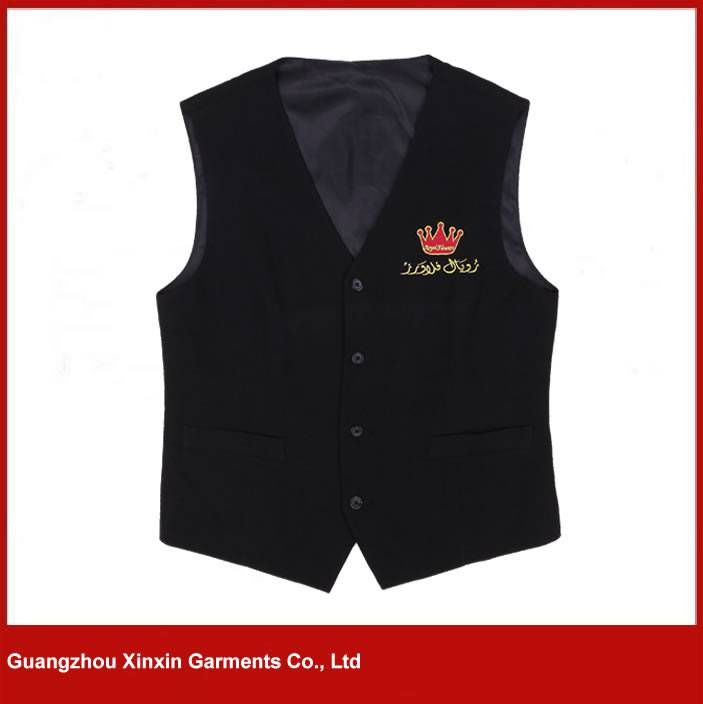 Fashion New Style Mens formal Waistcoat Vest for waiter