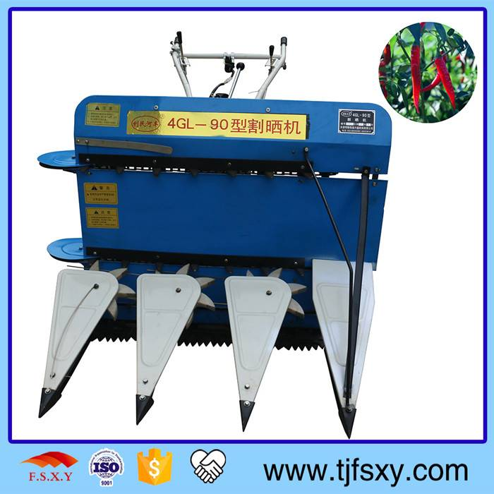 Hot Sell Manual 4GL-90 Used Rice And Paddy Reaper Machine