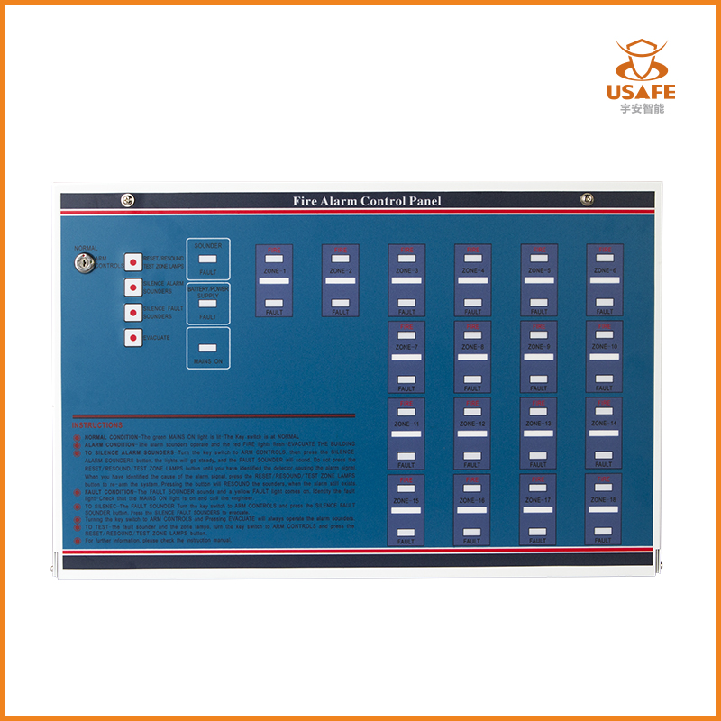 Conventional Fire Alarm Control Panel YA-CP100