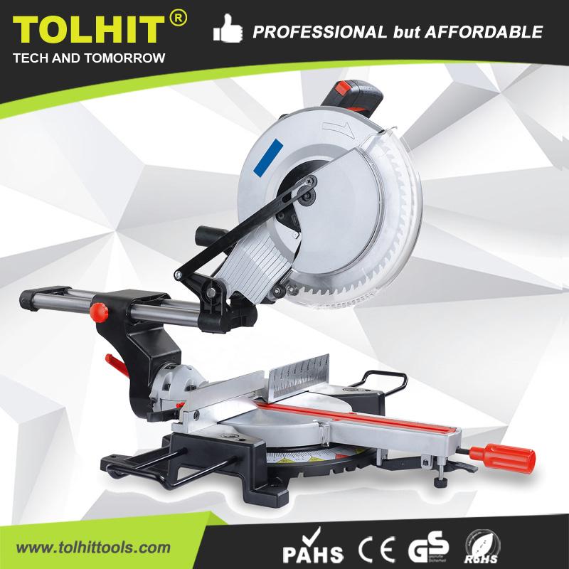 "TOLHIT 305mm/12"" Professional Slide Compound Miter Saw"