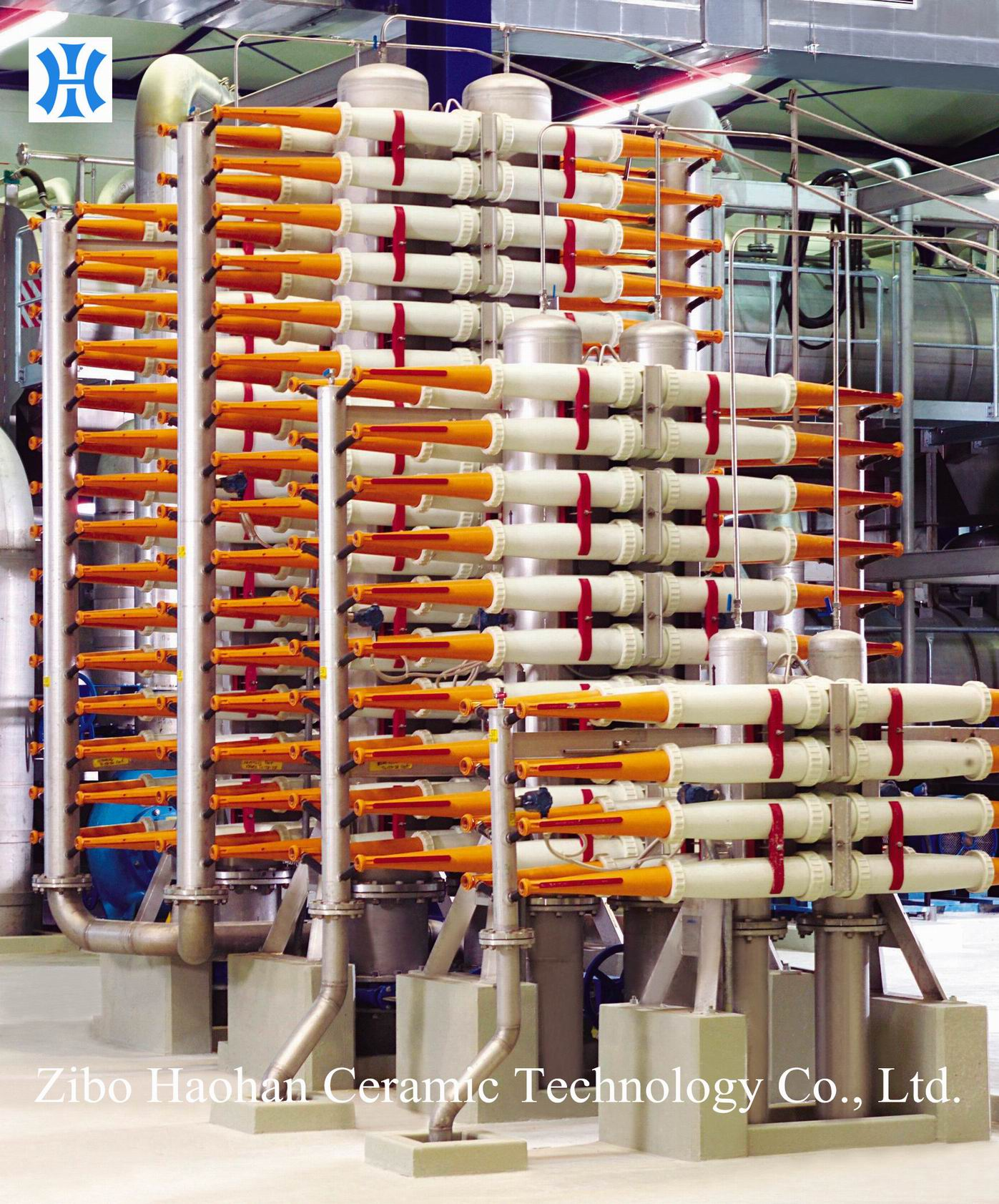 Centri Cleaner System for Paper Mill