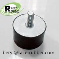 Construction machinery part-buffer rubber shock absorber