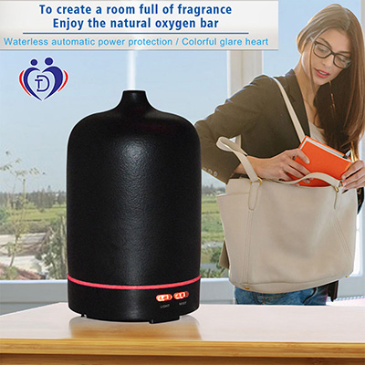 100ml ceramic Ultrasonic Aroma diffuser humidifier