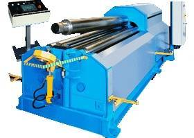 symmetric 3-roll mechanical rollers