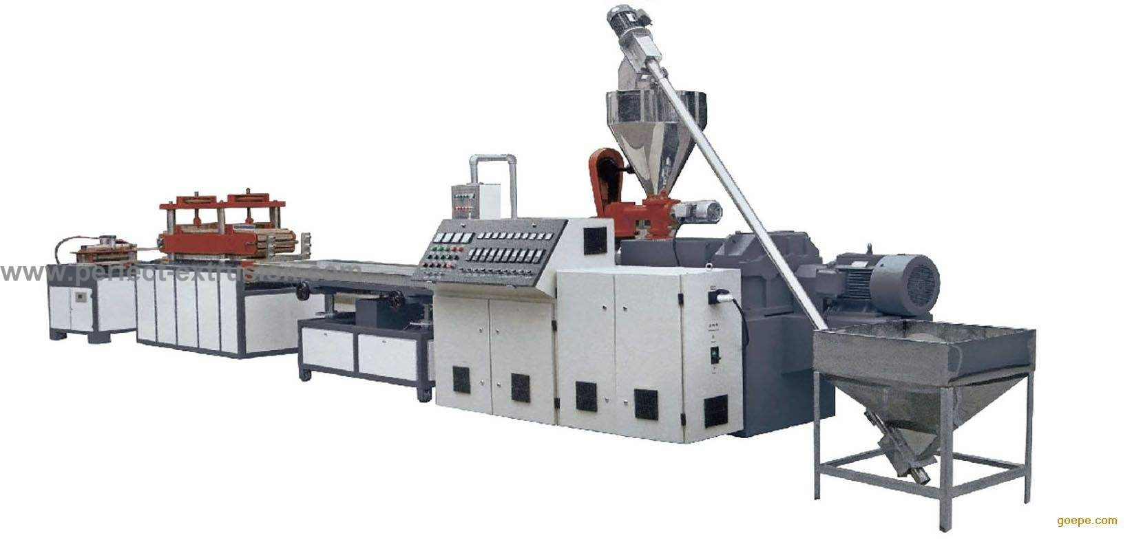 PVC Decoration Board Production Line, Plastic Board Extrusion Line