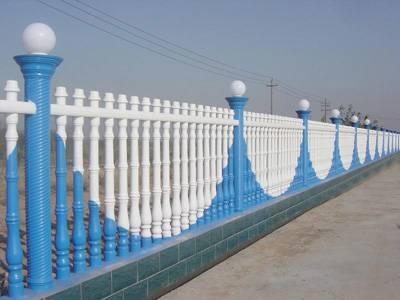 Concrete art fence machine