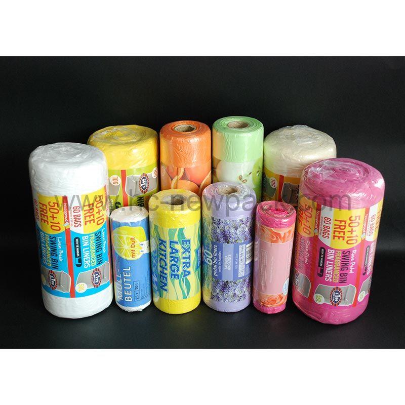Fragranced scent trash Bags