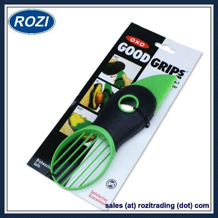 Oxo Good Grips 3-in-1 Avocado Slicer, Green