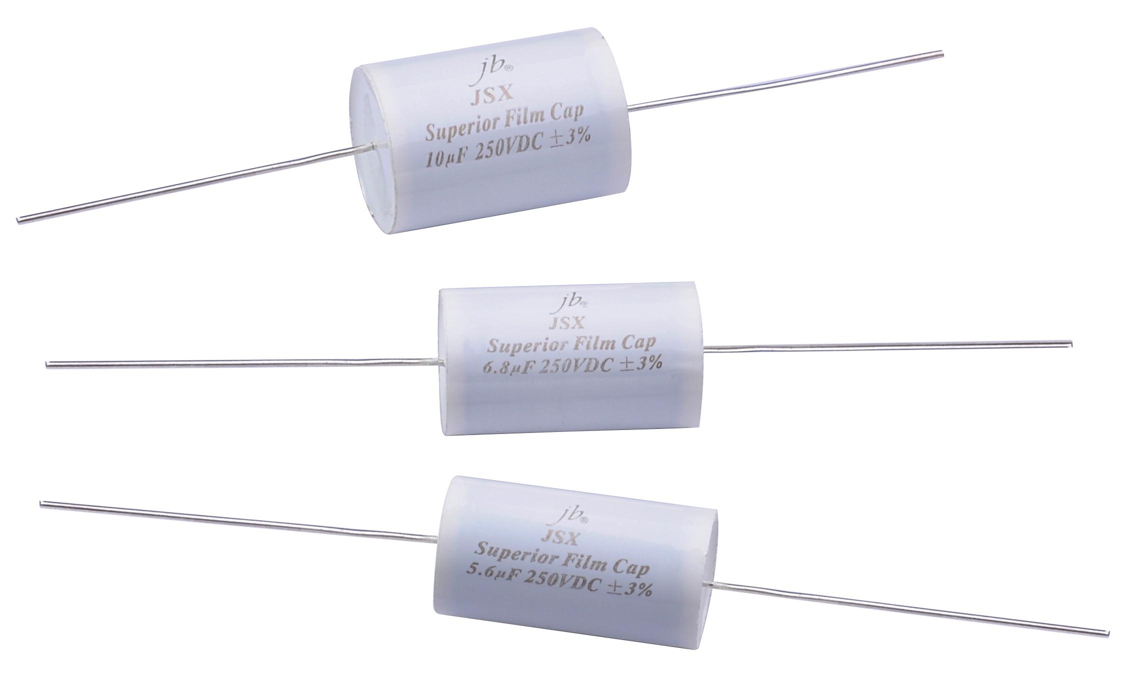 JSX - Superior Metallized Polypropylene Film Capacitors - Axial