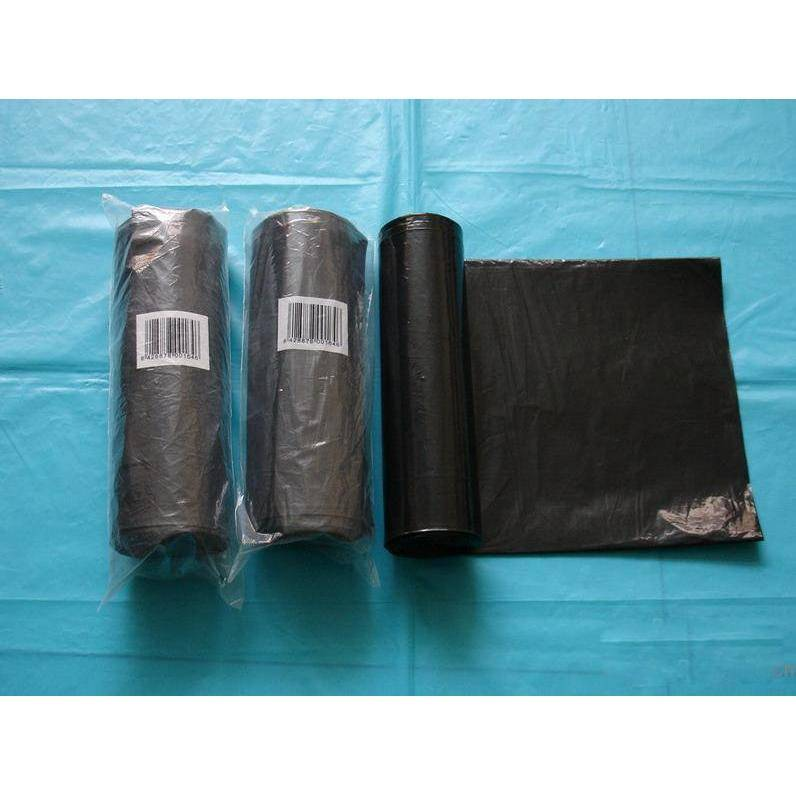 garbage plastic bags on roll