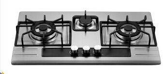 built in/Table gas hob, 3 burner Gas Cooktop, gas cooking burner
