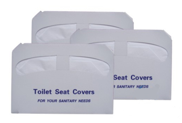 Disposable Toilet Seat Cover with 1/2 Fold
