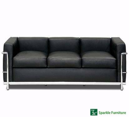 Le Corbusier LC2 sofa (3 seater)
