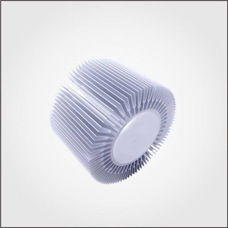 6000 series extruded aluminum profile pin fin led heat sink