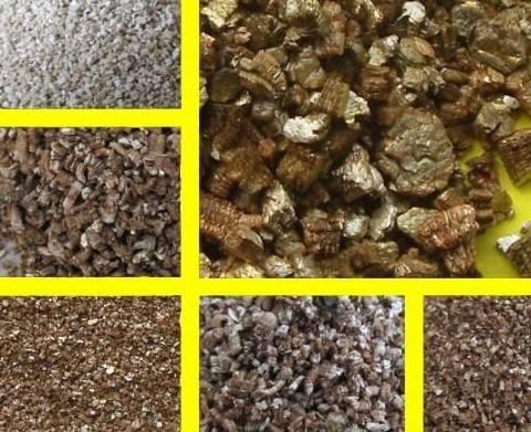 Xinjiang silver crude vermiculite