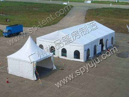 8x18m quick up tent in aluminum frame for  outdoor party