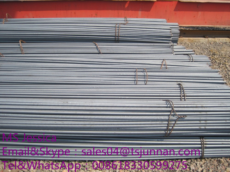 HRB500 Steel Rebar Cheap Export Deformed Steel Bar Iron Rods For Construction