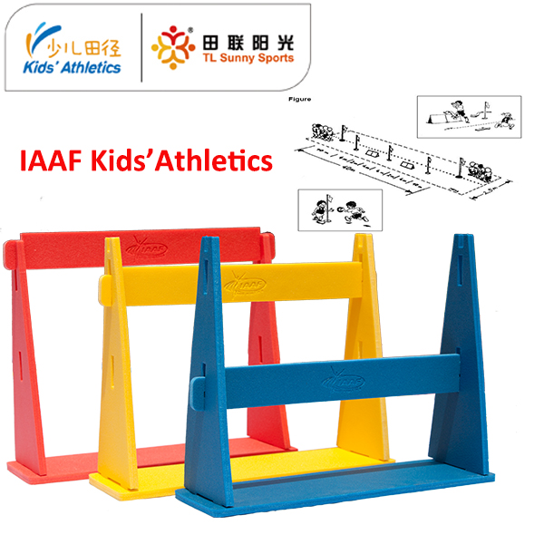 mini foam hurdles for kids athletics