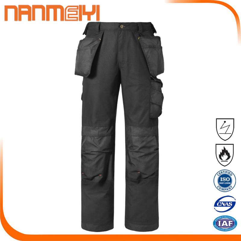 Workwear Trouser with Holster Pockets Holster Work Trousers knee pad
