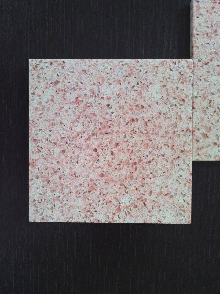Man-made Quartz Stone Slabs&Tiles Fit for Building&Flooring Especially for Reception Countertop,Work