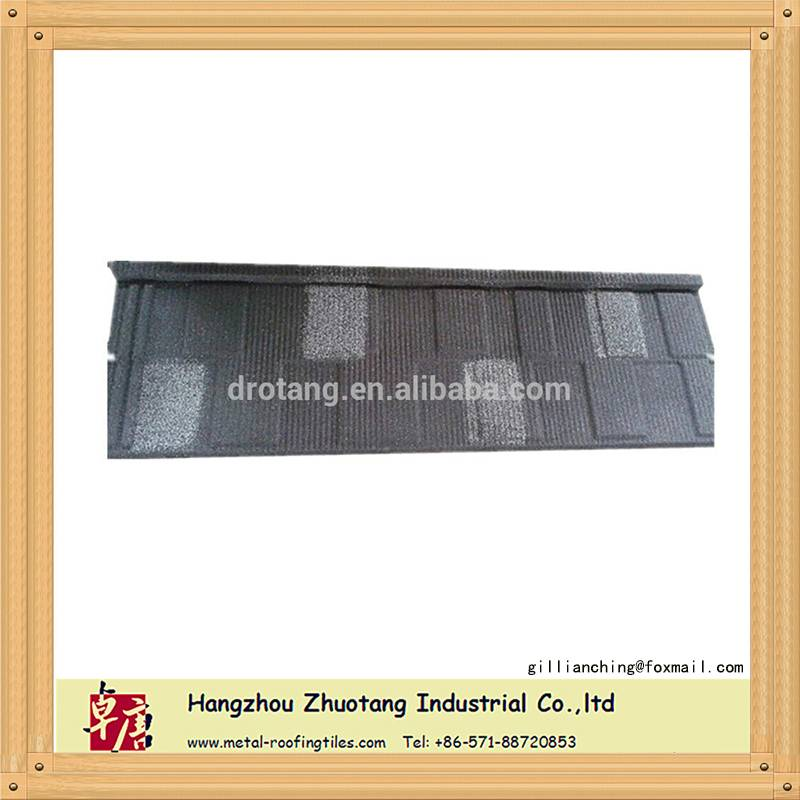 stone coated metal roofing/grid type metal roofing