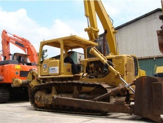 CAT D7G,Used Crawler Bulldozer,Fairly Well Condition