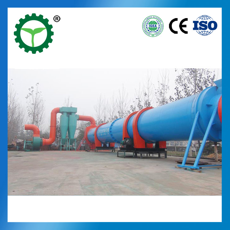 industrial use ratary dryer wood pellet dryer biomass dryer