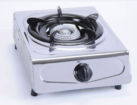 single gas stove stainles steel